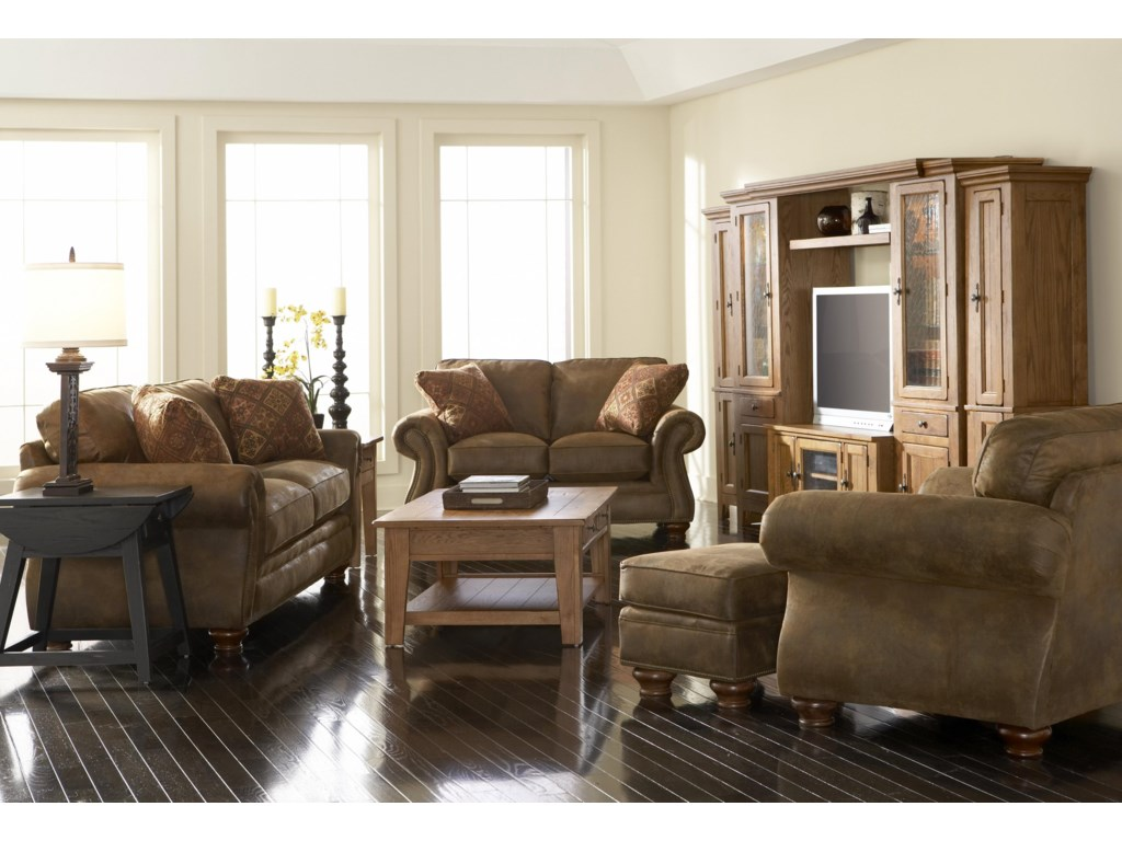 Shown with sofa and loveseat