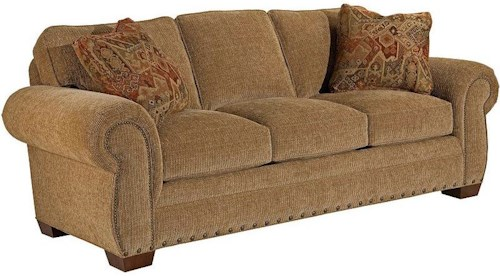 Broyhill Furniture Cambridge Queen Air Dream Sleeper Sofa