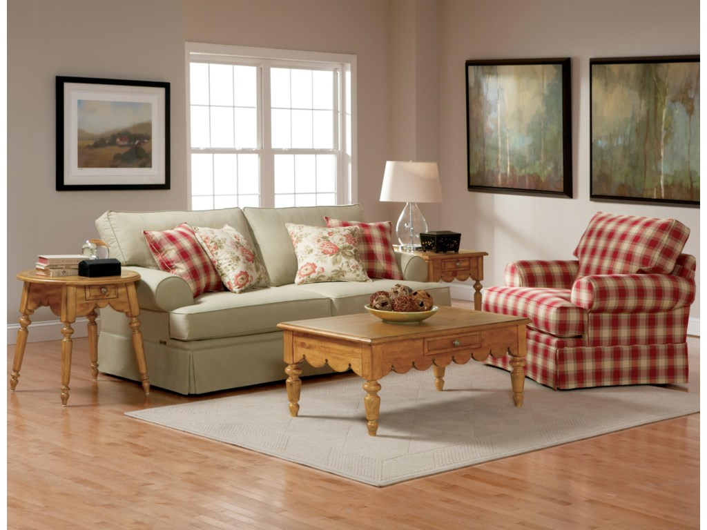 Broyhill Furniture EmilyCasual Style Sofa