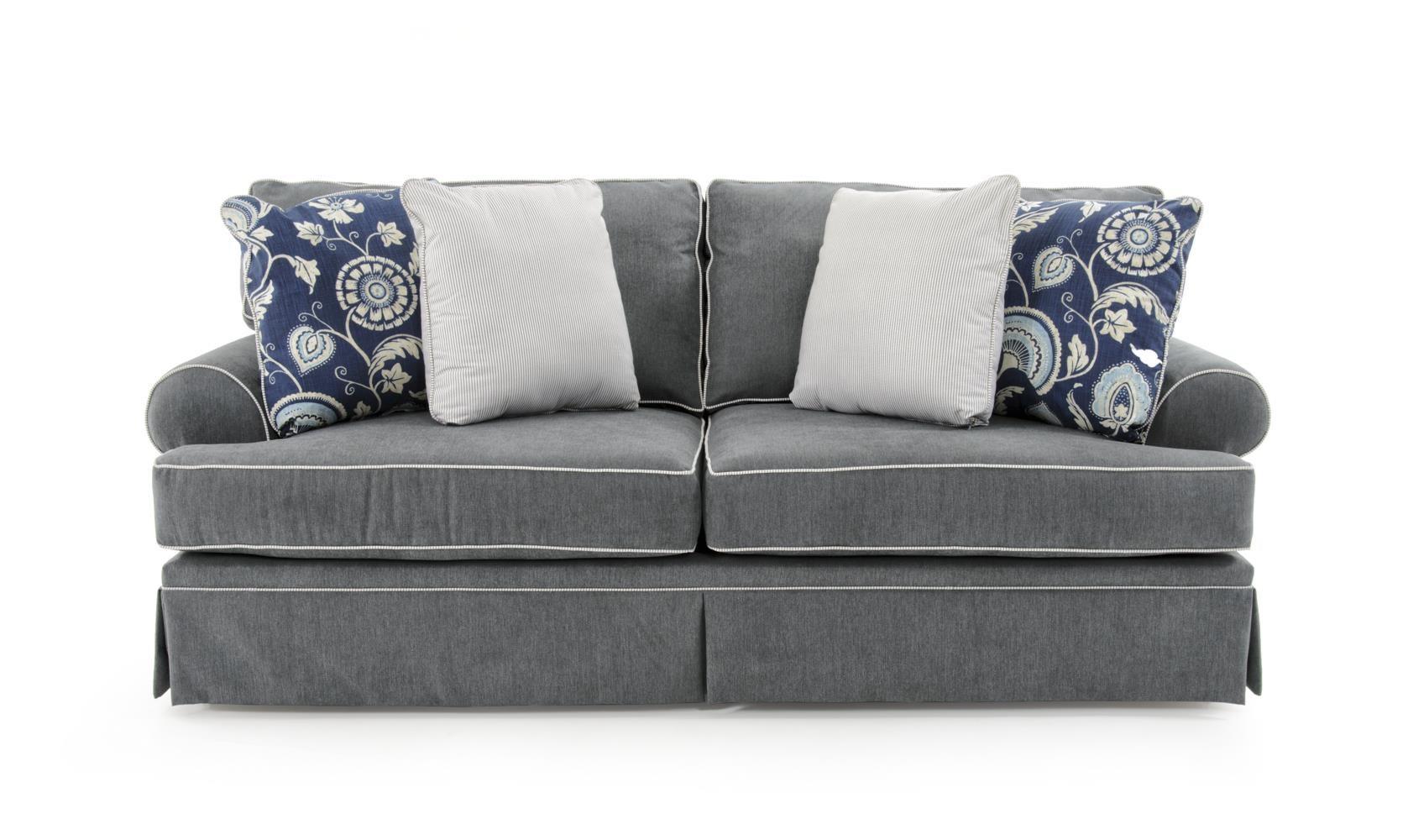 Broyhill Furniture Emily Queen Goodnight Sleeper Sofa   Baeru0027s Furniture    Sleeper Sofas