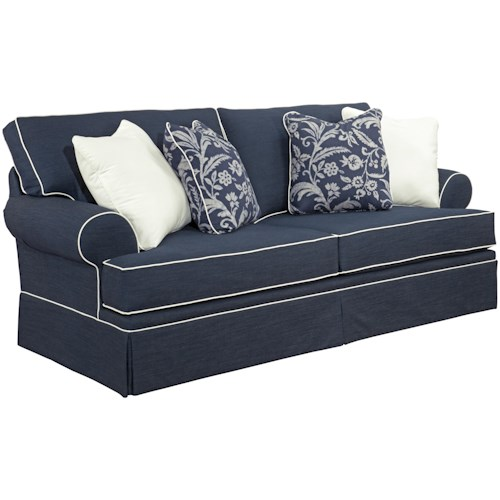 Broyhill Furniture Emily Queen Goodnight Sleeper Sofa