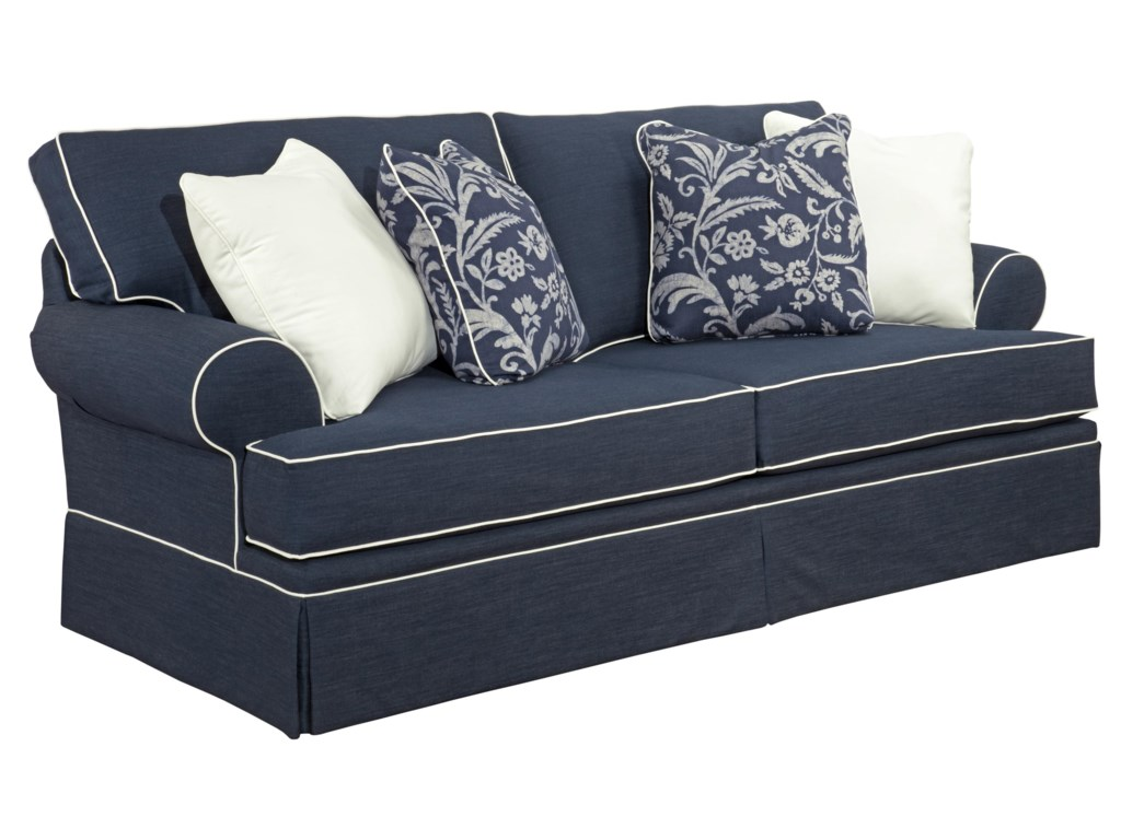 Broyhill Furniture Emily Queen IREST Sleeper Sofa Baers - Broyhill emily sofa