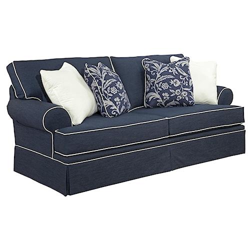 Broyhill Furniture Emily Queen Air Dream Sleeper Sofa