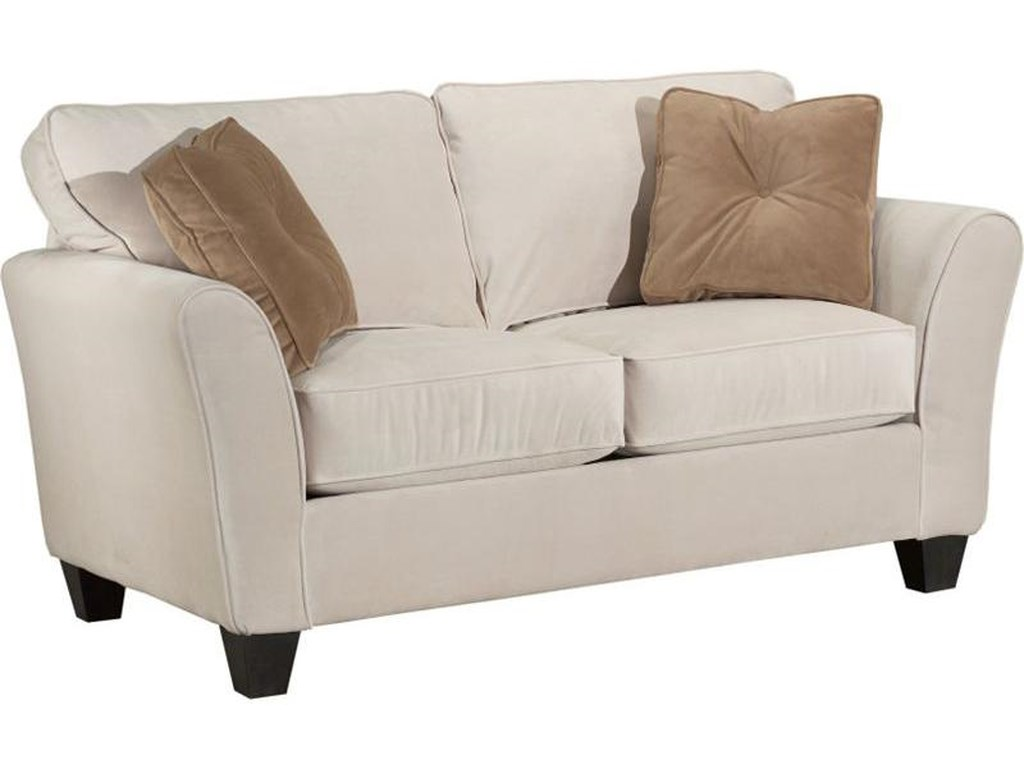Broyhill Furniture MaddieContemporary Style Loveseat
