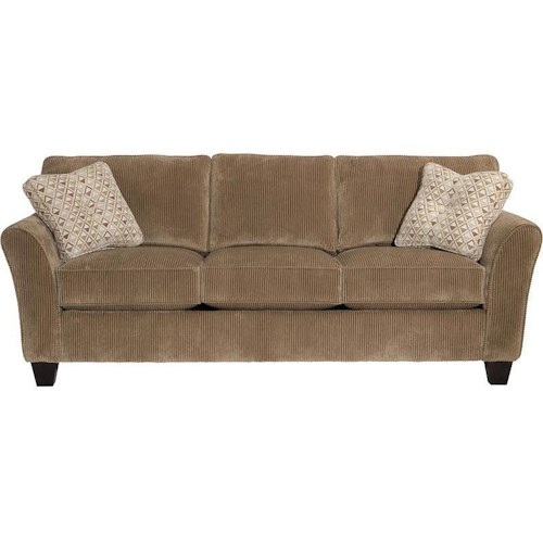 Broyhill Furniture Maddie Contemporary Queen IREST Sleeper Sofa