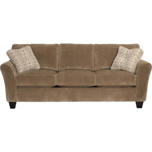 Broyhill Furniture Maddie Contemporary Queen Goodnight Sofa Sleeper