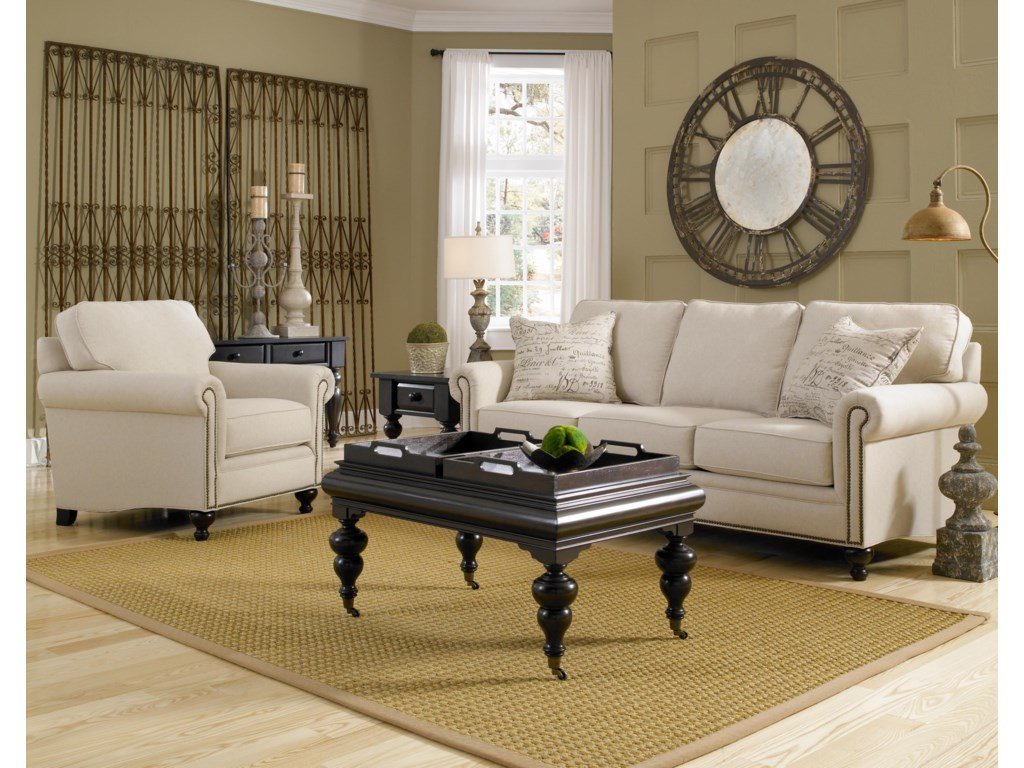 Shown in Room Setting with Matching Chair