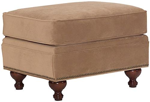 Broyhill Furniture Harrison Traditional Style Ottoman