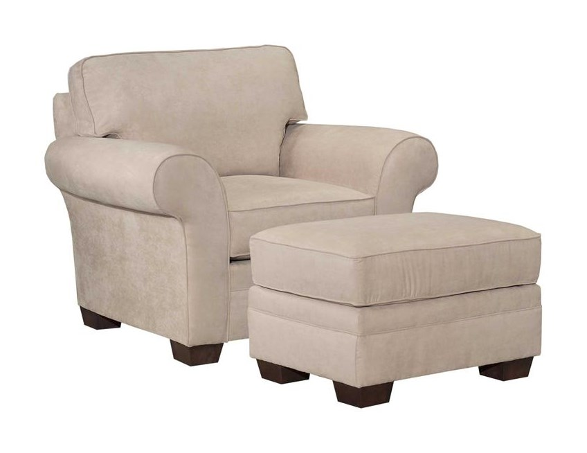 Broyhill Furniture ZacharyChair and Ottoman
