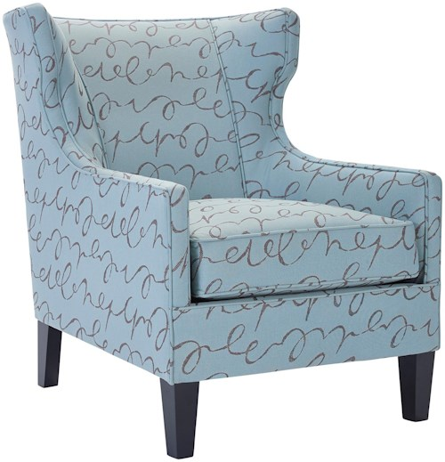 Broyhill Furniture Able Traditional Wing Back with Narrow Arms