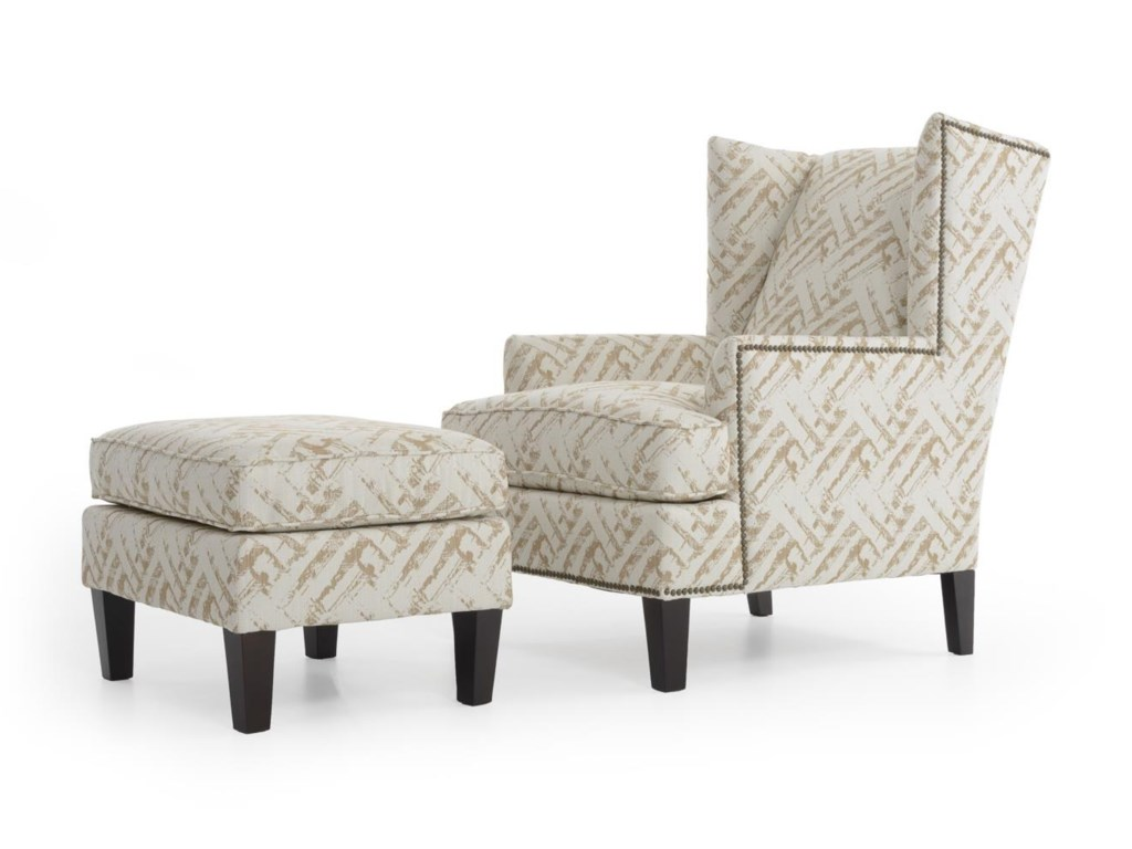 Broyhill Furniture Accent Chairs and Ottomans Lauren Chair