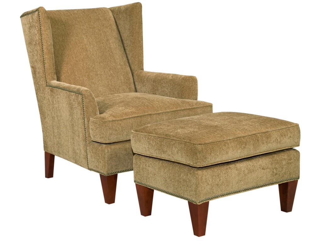 Broyhill Furniture Accent Chairs and Ottomans Chair and Ottoman