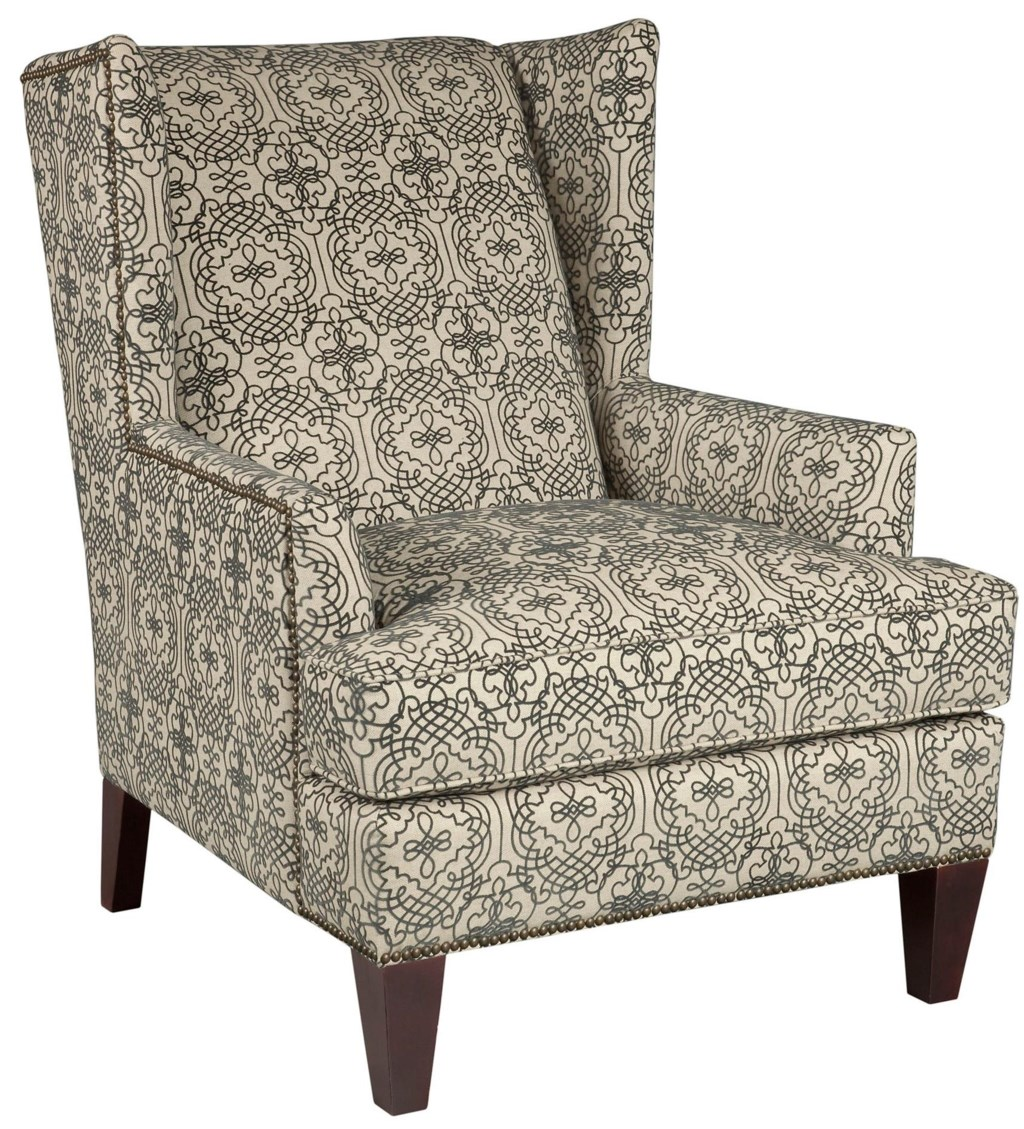 Broyhill Furniture Accent Chairs and Ottomans 9039 0 Lauren Chair