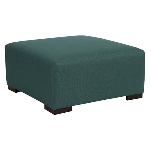 Broyhill Furniture Accent Chairs and Ottomans  Orson Contempoary Square Cocktail Ottoman