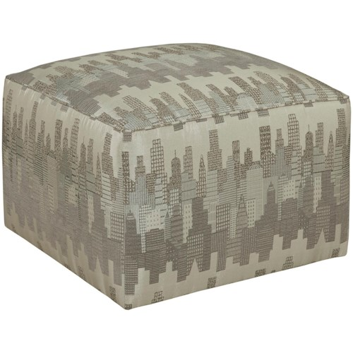 Broyhill Furniture Chloe Chloe Contemporary Cube Ottoman