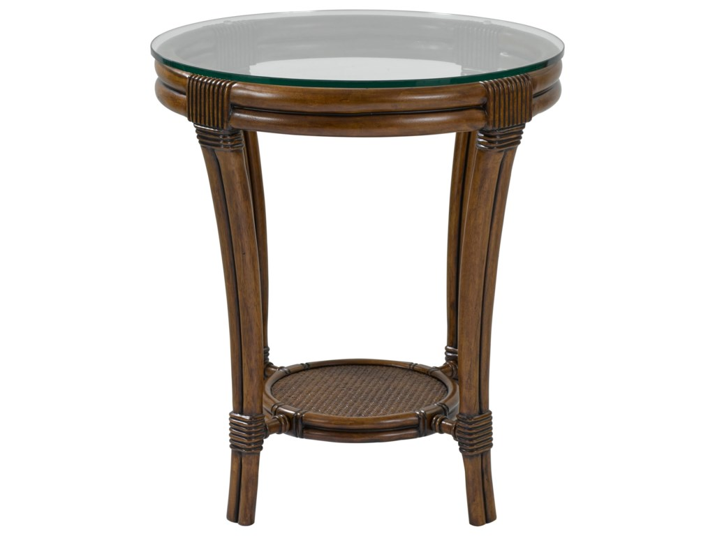 Broyhill Furniture Amalie BayRound Lamp Table