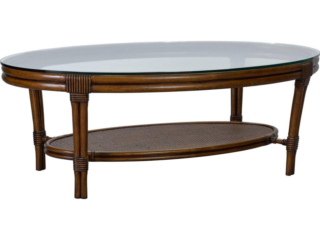Broyhill Furniture Amalie BayOval Cocktail Table