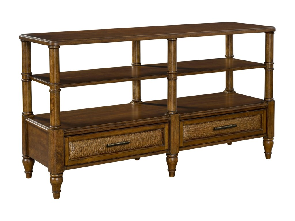 Broyhill Furniture Amalie BaySofa/Console Table