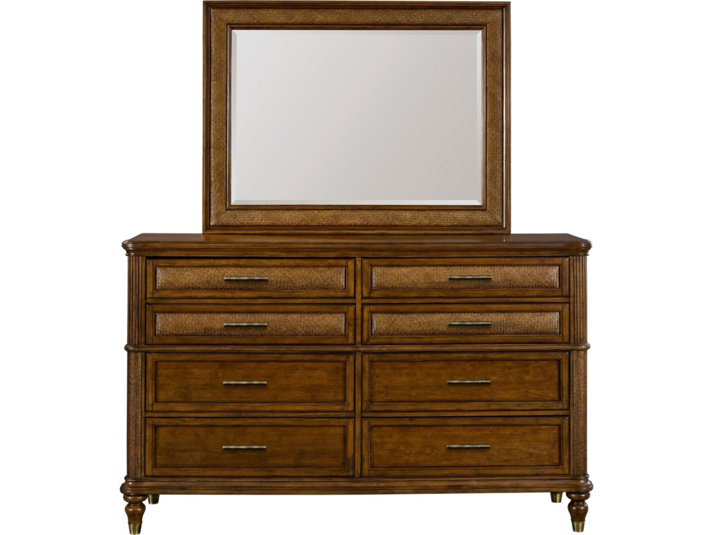 Broyhill Furniture Amalie BayDresser Mirror