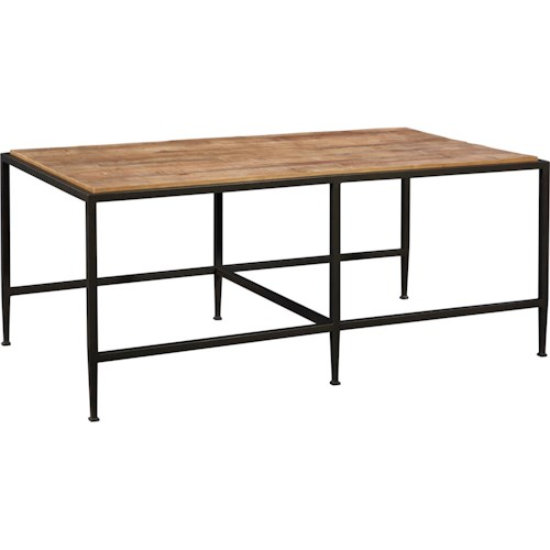 Broyhill Furniture Ariana Rectangle Cocktail Table with Repurposed Top