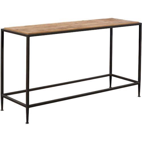 Broyhill Furniture Ariana Console Table with Repurposed Top