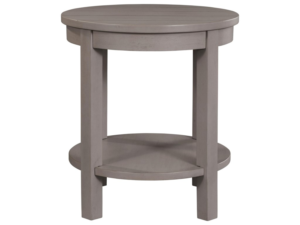 Broyhill Furniture AshgroveRound Lamp Table
