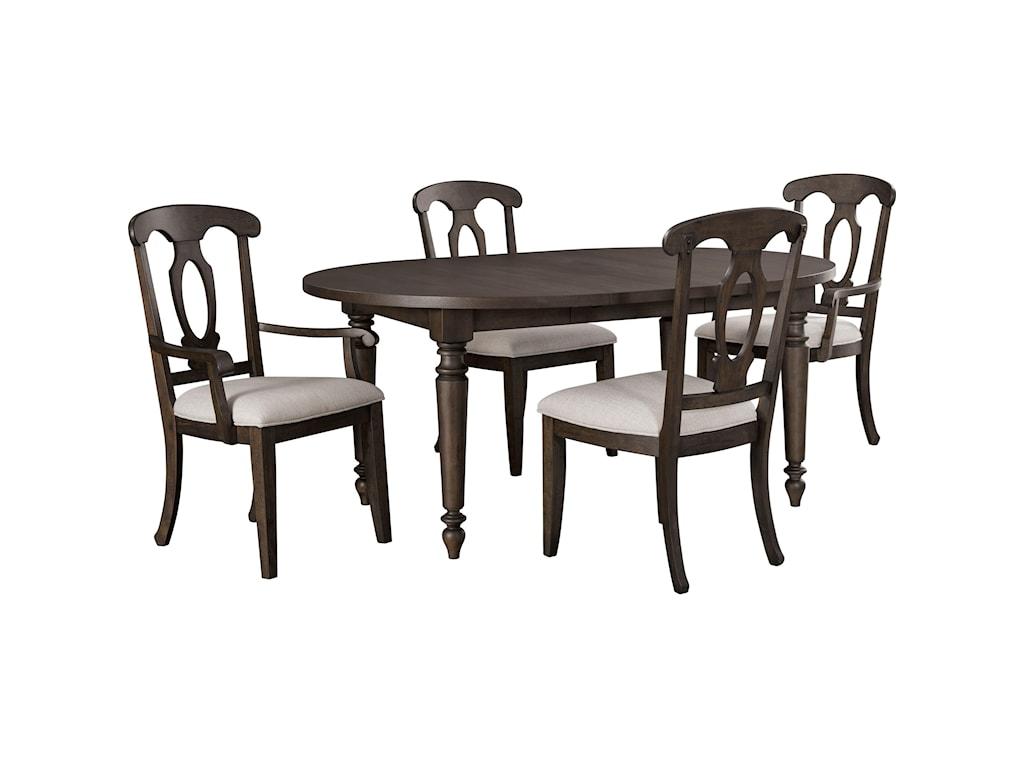 Broyhill Furniture AshgroveRound Leg Table