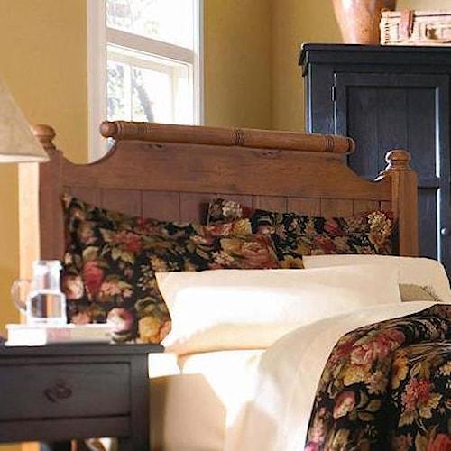 Broyhill Furniture Attic Heirlooms Queen Feather Headboard