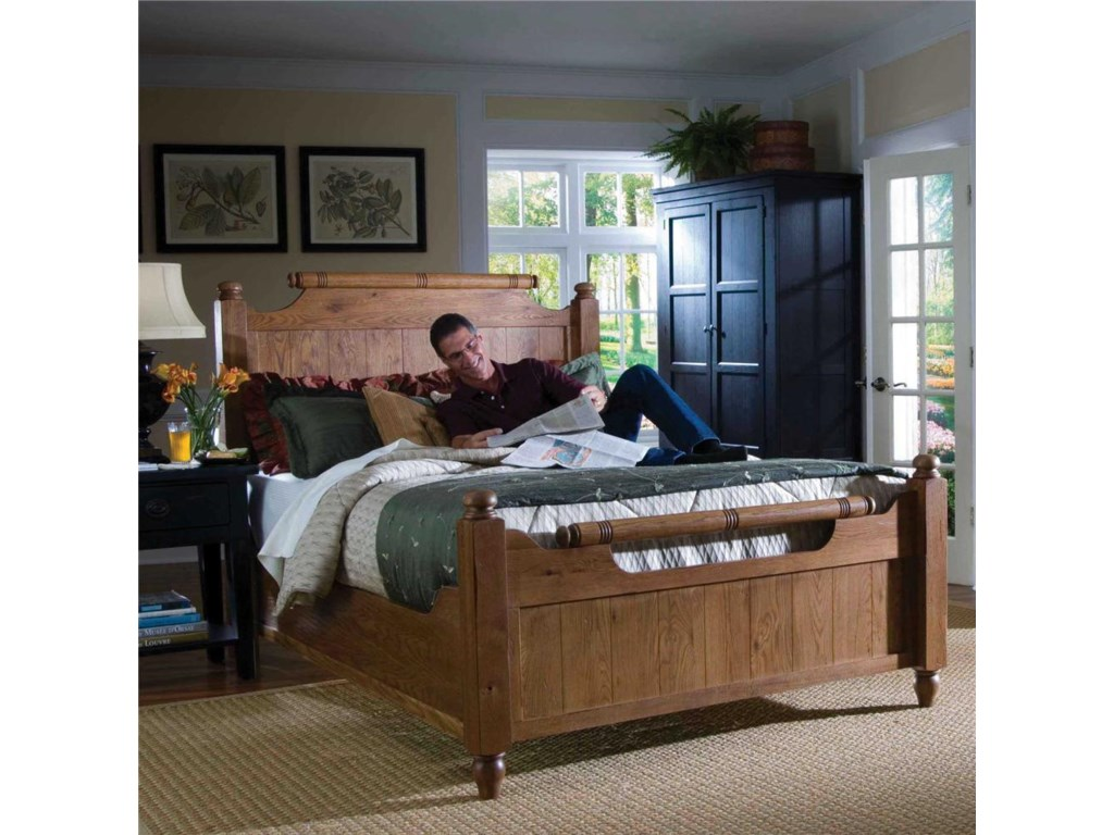 Shown with Optional Footboard in Bedroom Set