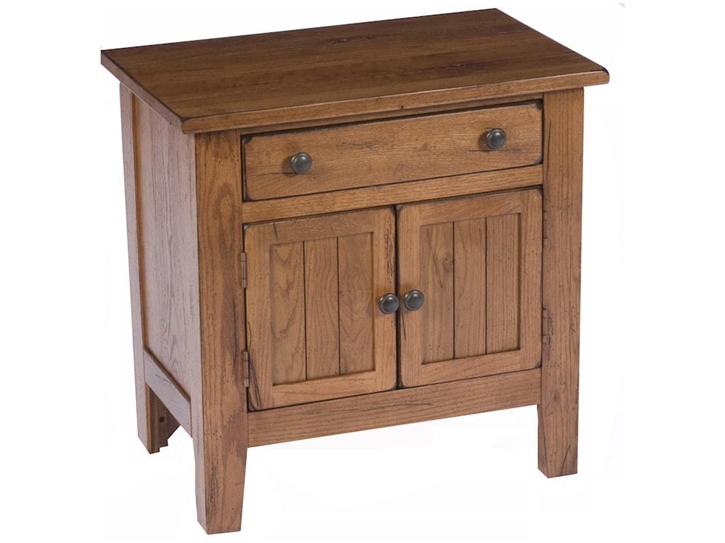 Broyhill Furniture Attic HeirloomsDoor Night Stand