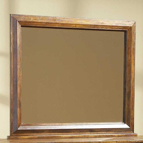 Broyhill Furniture Attic Rustic Landscape Mirror