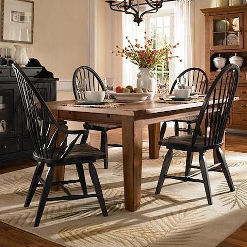 Broyhill Furniture Attic Heirlooms 5 Piece Dining Set