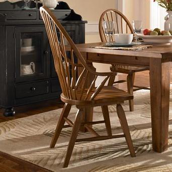 Broyhill Furniture Attic Heirlooms Windsor Arm Chair