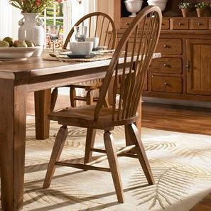Attractive Broyhill Furniture Attic Heirlooms Windsor Side Chair