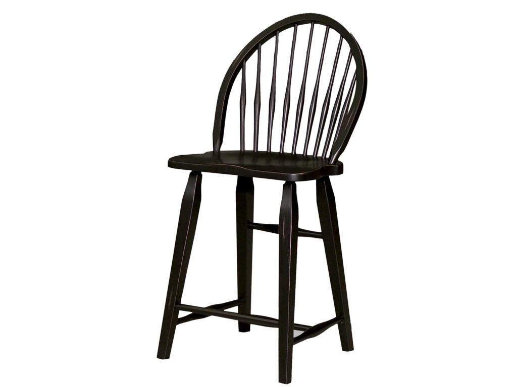 Broyhill Furniture Attic HeirloomsWindsor Counter Stool