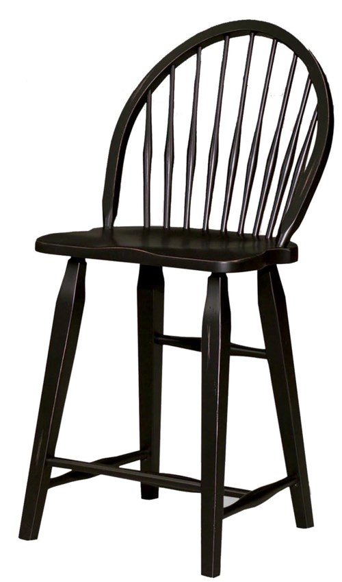 Broyhill Furniture Attic Heirlooms Windsor Counter Stool Bullard