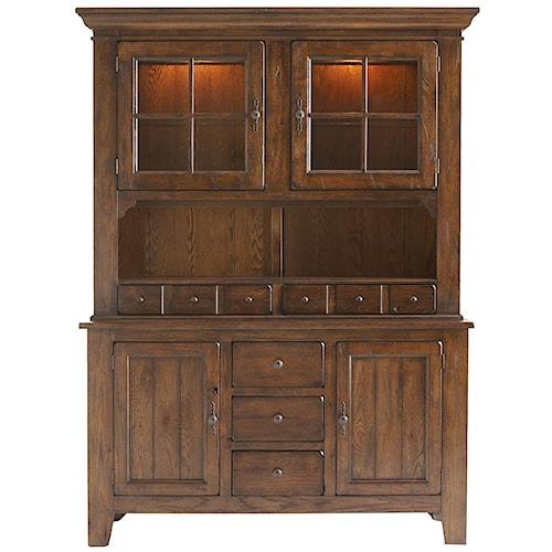Broyhill Furniture Attic Rustic China Cabinet