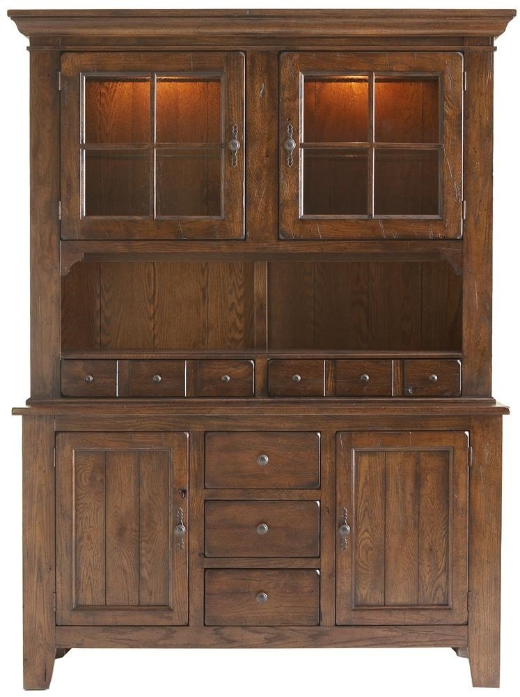 Nice Broyhill Furniture Attic RusticDining China Cabinet ...