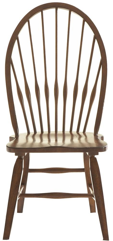 Exceptional Broyhill Furniture Attic Rustic Windsor Side Chair