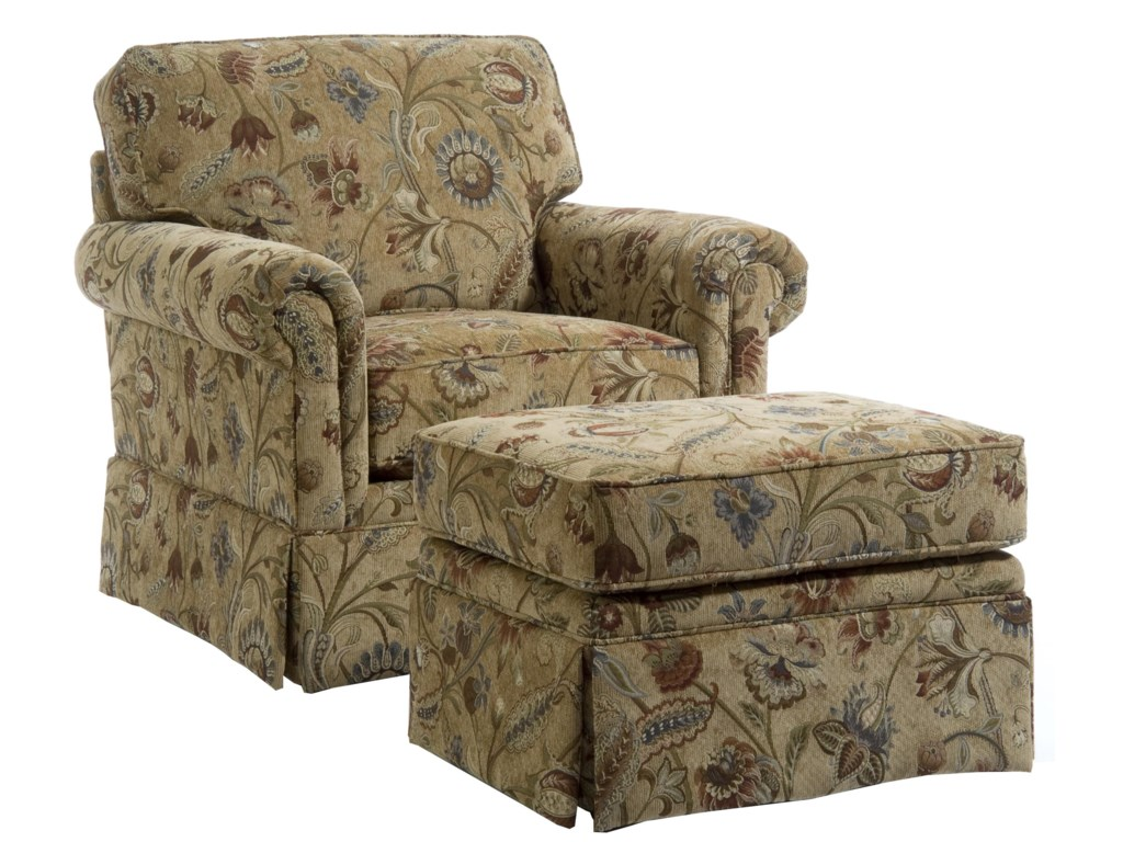 Broyhill Furniture AudreyChair and Ottoman
