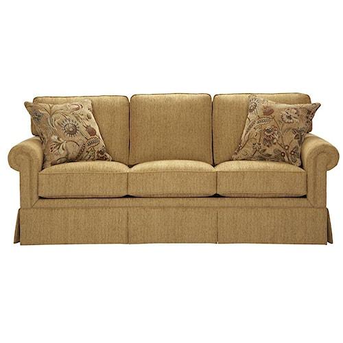 Broyhill Furniture Audrey Traditional Queen Sleeper Sofa