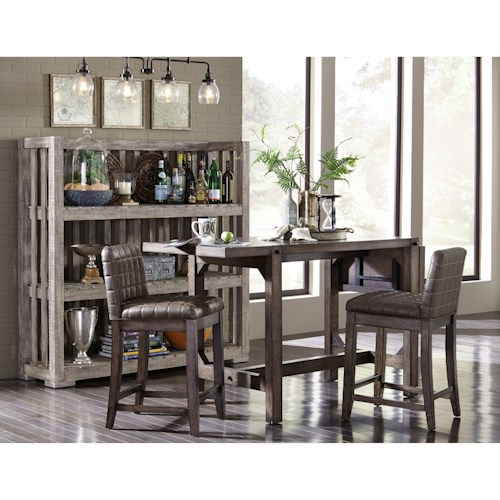 Broyhill Furniture Bedford Avenue Casual Dining Room Group