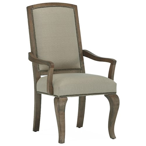 Broyhill Furniture Bedford Avenue Flushing Avenue Tapestry Arm Chair