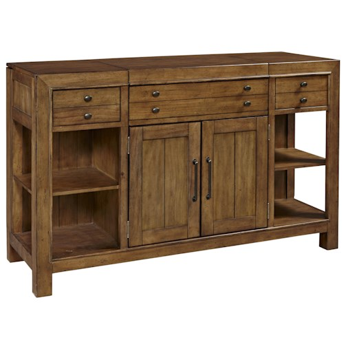 Broyhill Furniture Bethany Square Sideboard with 2 Doors