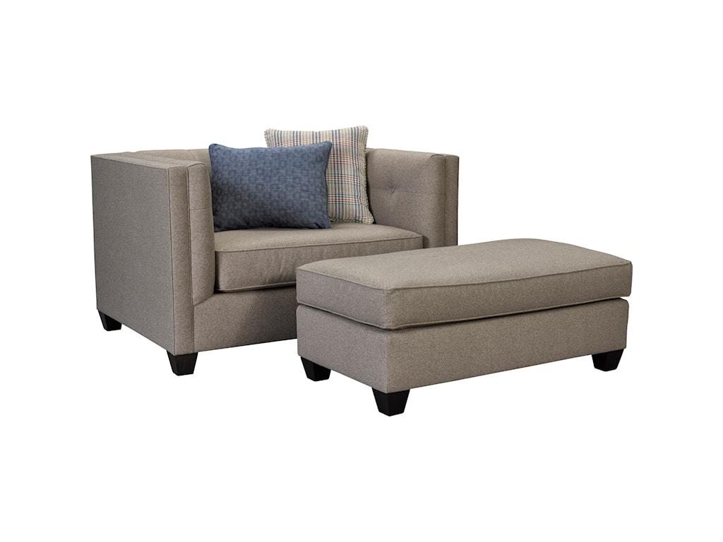 Broyhill Furniture BrynChair & 1/2