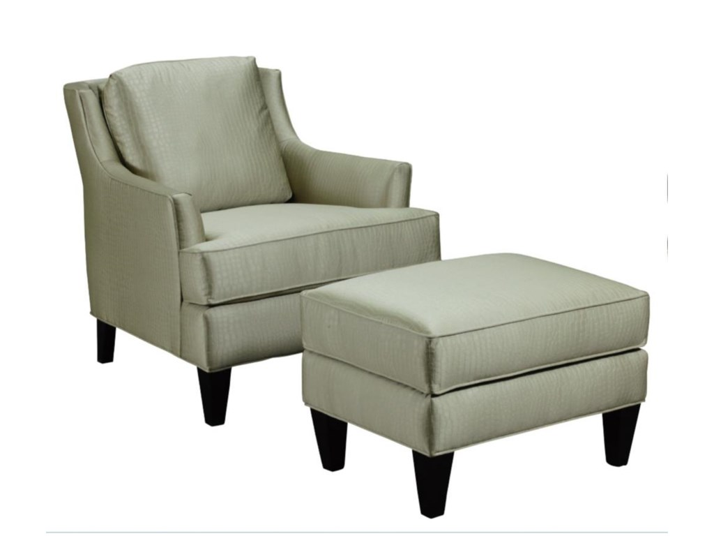 Broyhill Furniture CamdonChair and Ottoman Set