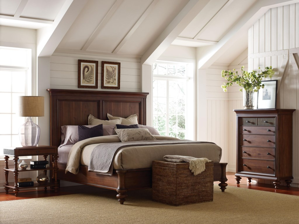 Broyhill Furniture CascadeQueen Panel Bed
