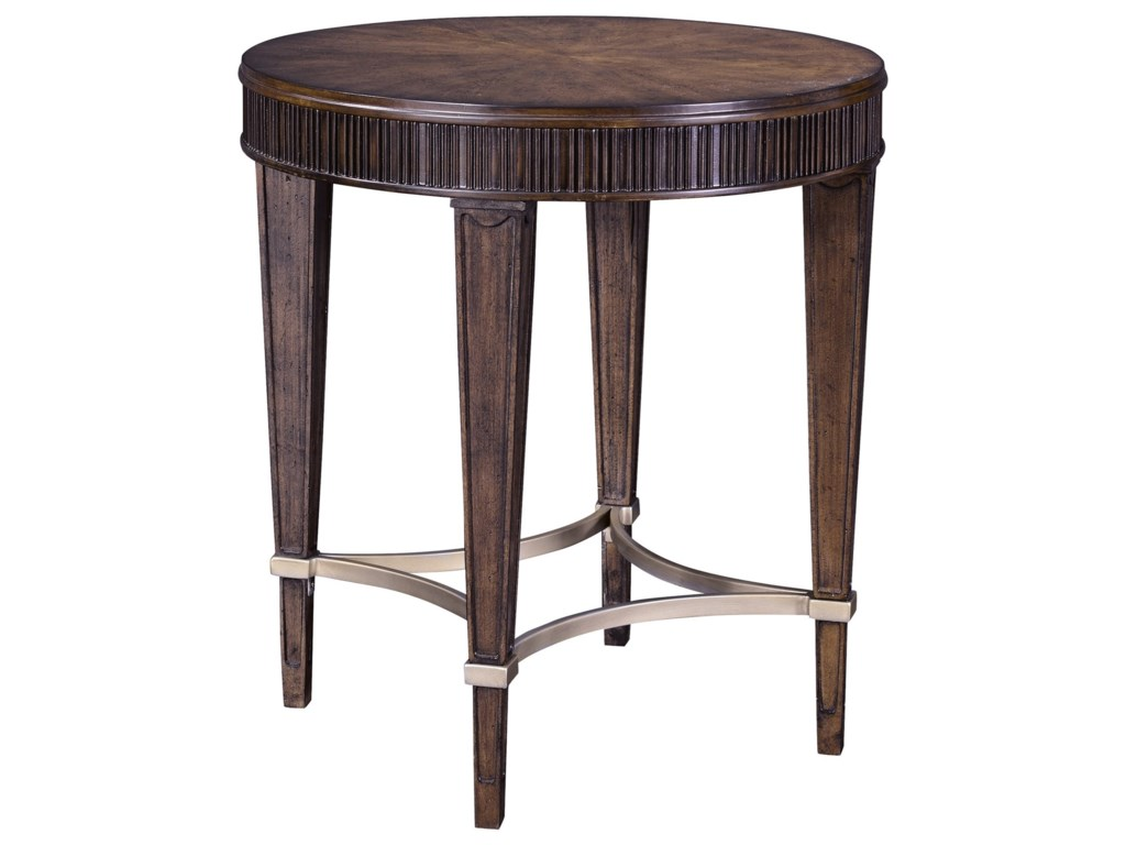 Broyhill Furniture CashmeraRound Lamp Table