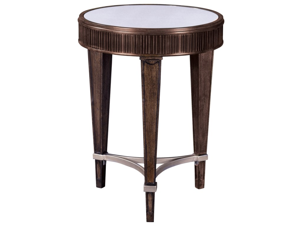 Broyhill Furniture CashmeraRound Chairside Table