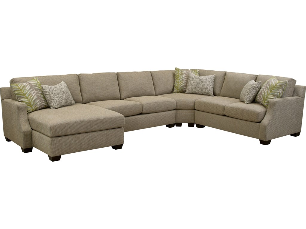 Broyhill Furniture Chambers Large 4 Pc. Sectional Sofa with LAF ...